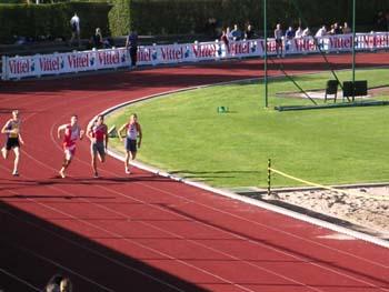 Julien : Finale du 200m